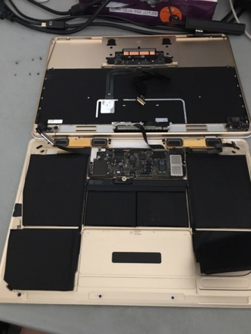 "Macbook 12"" Battery Replacement"